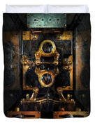 Steampunk - Electrical - The Power Meter Duvet Cover by Mike Savad