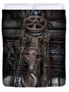 Steampunk - Industrial Strength Duvet Cover by Mike Savad