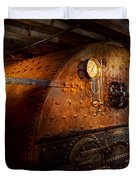Steampunk - Plumbing - The home of a stoker  Duvet Cover by Mike Savad