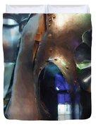 Steel Knight Duvet Cover by Ayse Deniz