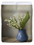 Still Life With Fresh Flowers Duvet Cover by Jaroslaw Blaminsky