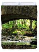 Stone Bridge II Duvet Cover by Elizabeth Dow