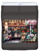 Store - Dreyer's Farm Duvet Cover by Mike Savad
