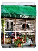 Store - Florist Duvet Cover by Mike Savad