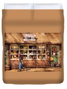 Store -  The Thrift Shop Duvet Cover by Mike Savad