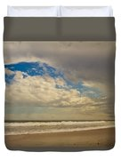 Storm Approaching Duvet Cover by Karol Livote