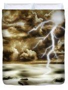 Storm Duvet Cover by Les Cunliffe