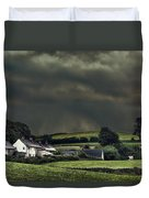 Stormy Hamlet Duvet Cover by Amanda And Christopher Elwell