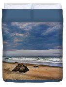 Stormy Skies Duvet Cover by Heidi Smith