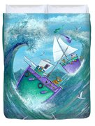 Stormy Weather Duvet Cover by Peter Adderley