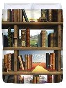 StoryWorld Duvet Cover by Cynthia Decker