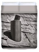 Stove Pipe Duvet Cover by Kelley King