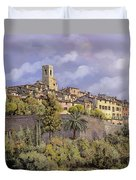 St.paul De Vence Duvet Cover by Guido Borelli