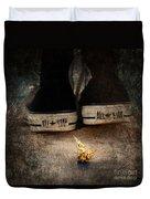 Strange Cold Feeling Duvet Cover by Stelios Kleanthous