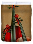 Stringed Trio Duvet Cover by David and Carol Kelly