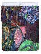 Studio Still Life Duvet Cover by Kendall Kessler