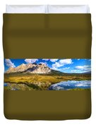 Sukakpak Reflection Duvet Cover by Chad Dutson