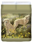 Summer Day Duvet Cover by Lucie Bilodeau