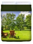 Summer Relaxing Duvet Cover by Elena Elisseeva
