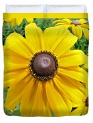 Summers Bloom Duvet Cover by Susan Leggett