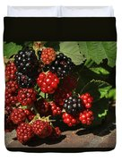 Summer's Bounty Duvet Cover by Donna Kennedy