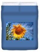 Sun Flower Duvet Cover by Adrian Evans