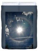 Sun Halo Duvet Cover by Lainie Wrightson