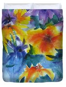 Sun Splashes Duvet Cover by Anne Duke