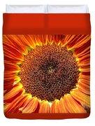 Sunflower Burst Duvet Cover by Kerri Mortenson