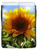 Sunflower Highlight Duvet Cover by Kerri Mortenson