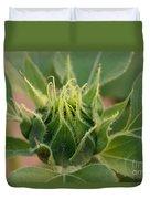 Sunflower Pod Duvet Cover by Kerri Mortenson