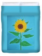 Sunflower Duvet Cover by Sven Fischer