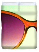 Sunglass - 5D20678 - v3 Duvet Cover by Wingsdomain Art and Photography