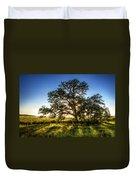 Sunset Oak Duvet Cover by Scott Norris