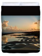 Sunset Over The Ocean IIi Duvet Cover by Marco Oliveira