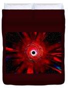 Super Massive Black Hole Duvet Cover by David Lee Thompson