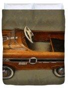 Super Sport Pedal Car Duvet Cover by Michelle Calkins