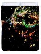 Supernova Remnant Cassiopeia A Duvet Cover by Amanda Struz