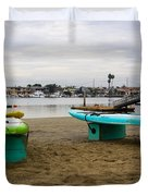 Suping Duvet Cover by Heidi Smith