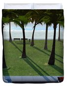 Surfside Duvet Cover by Cynthia Decker