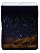 Surprise Trailhead Startrails Duvet Cover by Benjamin Reed
