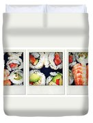 Sushi Duvet Cover by Les Cunliffe