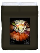 Sushi Tray Duvet Cover by Elena Elisseeva