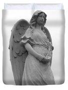 Sweet Seraphim Duvet Cover by Rachel E Moniz