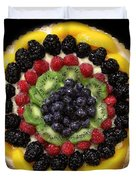 Sweet Treats - Fruit Cake - 5d20920 - Square Duvet Cover by Wingsdomain Art and Photography