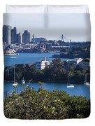 Sydney Harbour Duvet Cover by Steven Ralser