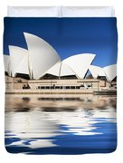 Sydney Icon Duvet Cover by Sheila Smart