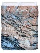 Tahoe Rock Formation Duvet Cover by Carol Groenen
