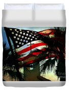 Take Back America Duvet Cover by Beverly Guilliams