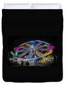 Take Me To Your Leader Duvet Cover by Joan Carroll